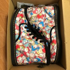 Hello Kitty Sanrio limited edition Doc Martens